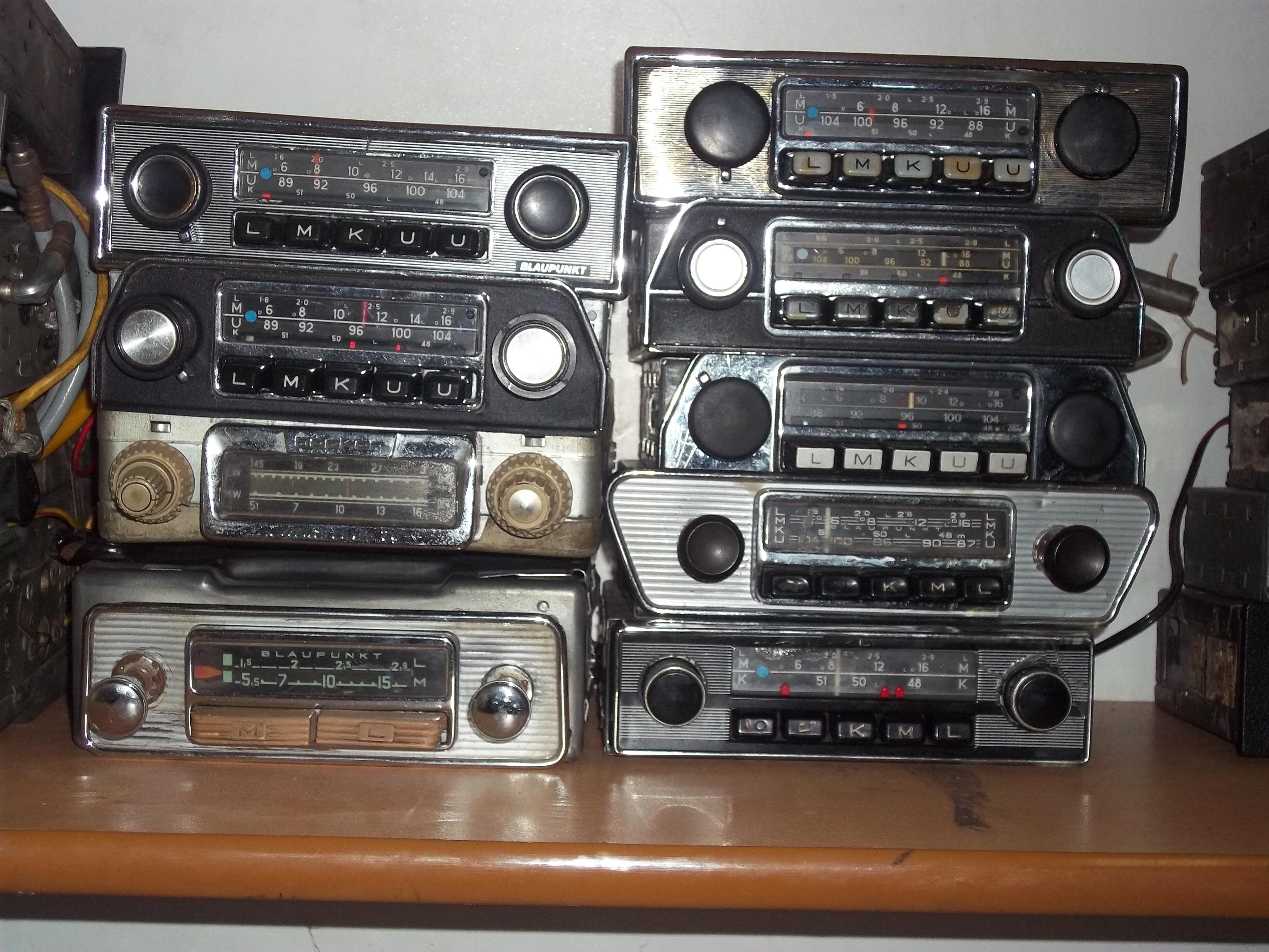 orjinal blaupunkt radyolar